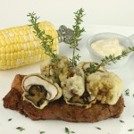 Grilled Steak with Truffle Mayonnaise