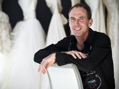 Bridal Gown Designer David McCaffrey