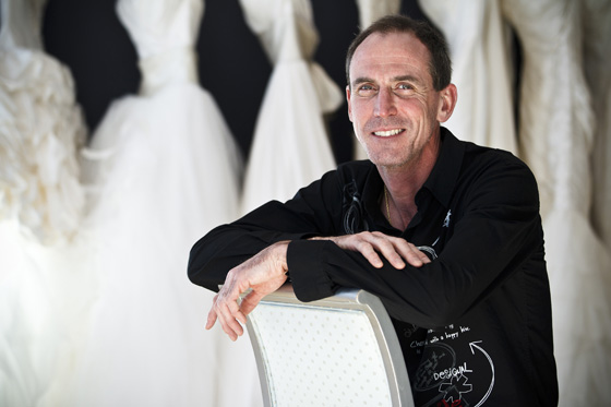 David McCraffrey is the principal designer and creative director of McCaffrey Haute Couture